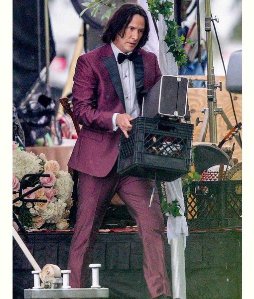 Logan Burgundy Suit