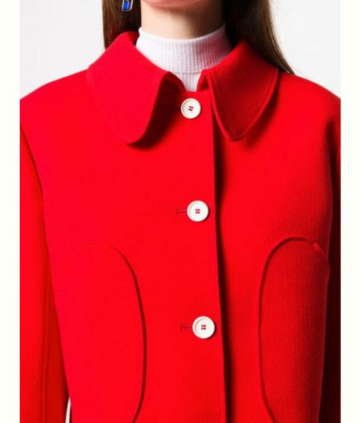 Killing Eve Season 03 Villanelle Red Cropped Jacket