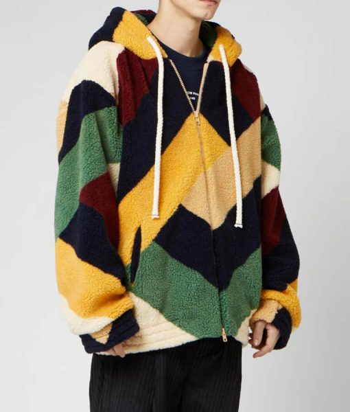 Life Is Good Future Multi-color Sherpa Jacket