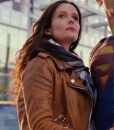 Lois Lane Superman and Lois Leather Jacket