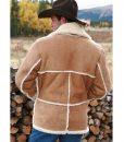 Marlboro Man Shearling Jacket