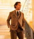 Michael Pearson The Gentlemen 3 Piece Checkered Suit