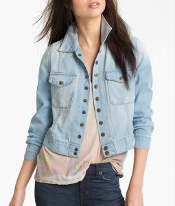 Yellowstone Season 03 Kelsey Asbille Denim Jacket