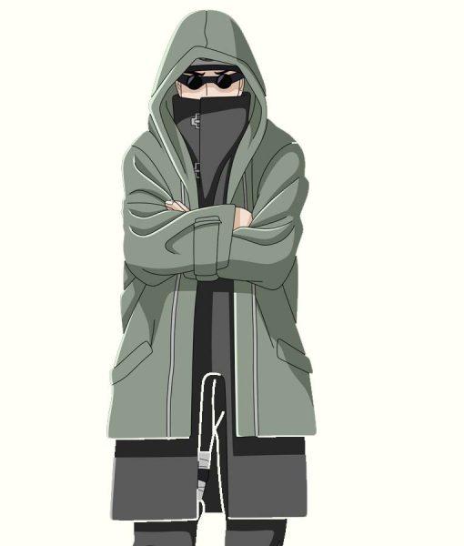 Naruto Shino Aburame Hooded Jacket