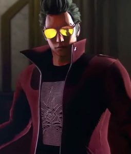 No More Heroes 3 Travis Touchdown Leather Jacket