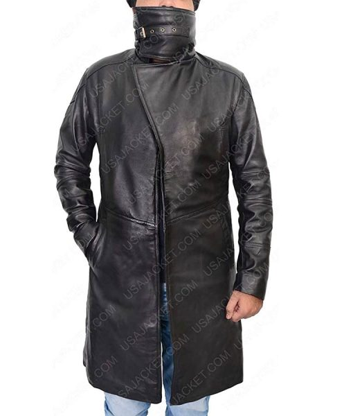 Blade Runner 2049 Shearling Leather Jacket