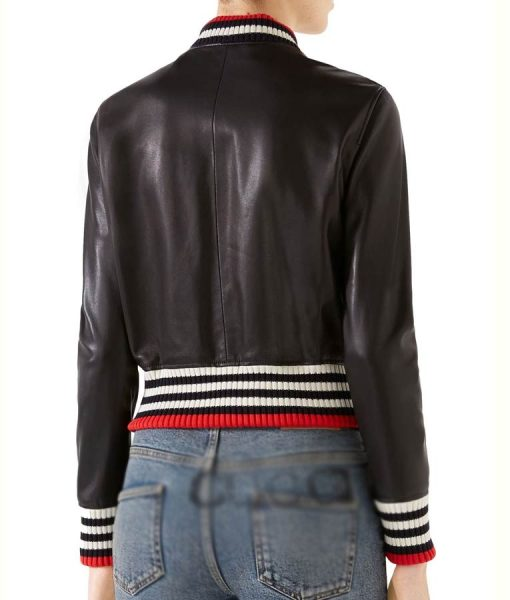 Real Housewives of New York City Leather Bomber Jacket