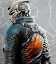 Romer Shoal Disintegration Leather Jacket