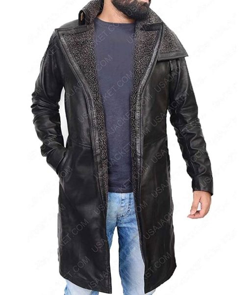 Rya Gosling Blade Runner 2049 Leather Jacket