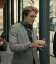 Tenet Grey Robert Pattinson Suit