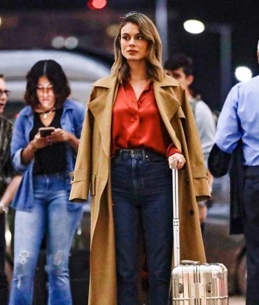 Nathalie Kelley The Baker and the Beauty Coat