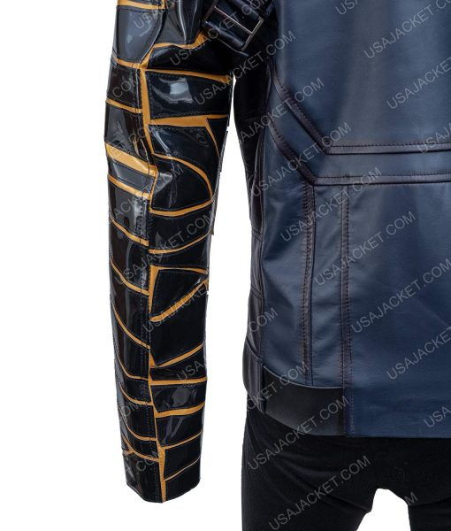The Falcon and the Winter Soldier Battle Blue Bucky Barnes Jacket