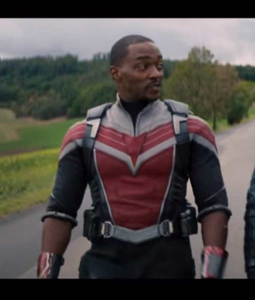 The Falcon and the Winter Soldier Falcon Anthony Mackie Leather Jacket