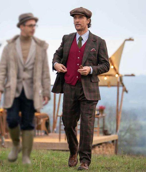 The Gentlemen Michael Pearson Checkered Suit