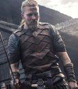 Tobias SantelmannThe Last Kingdom Ragnar Leather Vest