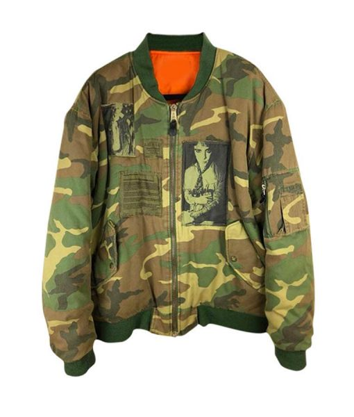 Toosie Slide Drake Military Jacket
