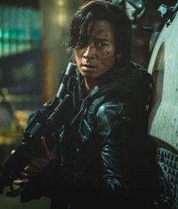 Dong-Won Gang Train To Busan 2 Leather Jacket