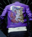 Travis Strikes Again No More Heroes Jacket With Studs