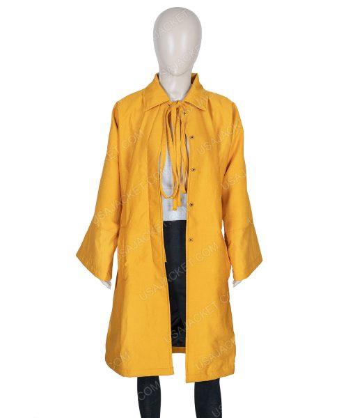 Killing Eve Season 03 Jodie Comer Yellow Long Coat