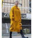 Villanelle Killing Eve Season 03 Jodie Comer Yellow Long Coat