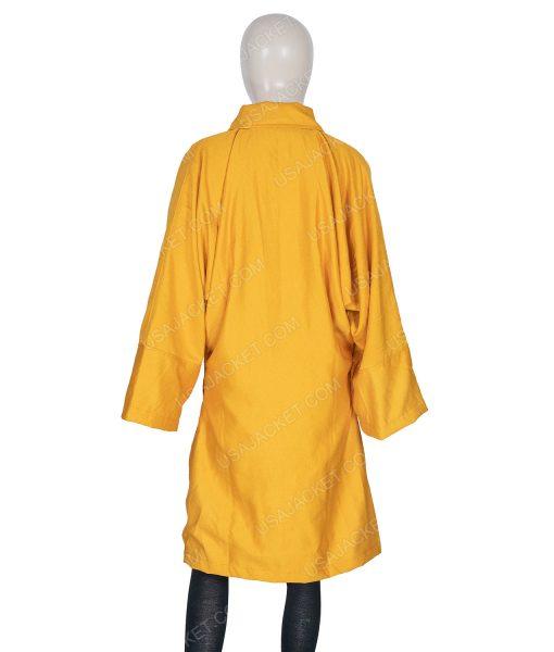 Villanelle Killing Eve Season 03 Jodie Comer Yellow Coat