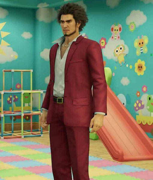Kasuga Ichiban Yakuza Like a Dragon Suit