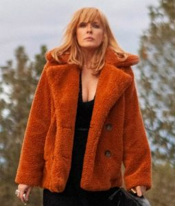 Yellowstone Beth Dutton Sherpa Coat