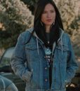Yellowstone Monica Dutton Blue Denim Jacket