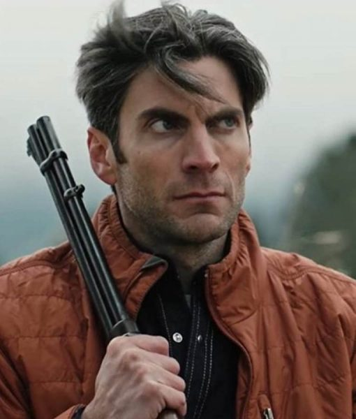 Yellowstone Wes Bentley Parachute Jacket