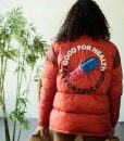 Good For Health Bad For Education Akira Puffer Red Jacket