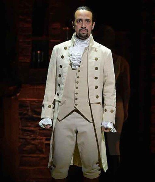 Alexander Hamilton White Coat
