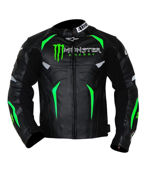Alpinestars Hellhound Monster Energy Motorcycle Jacket