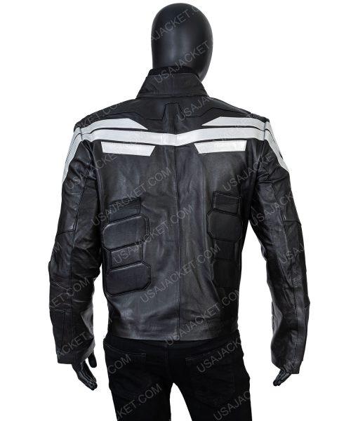 Black Captain America XL Jacket