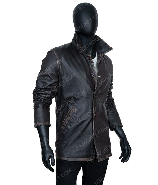 Clearance Sale Men's Leather Jacket In (XL) Size