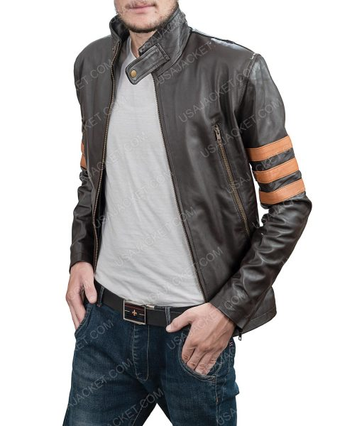 Clearance sale leather Retro Style Jacket