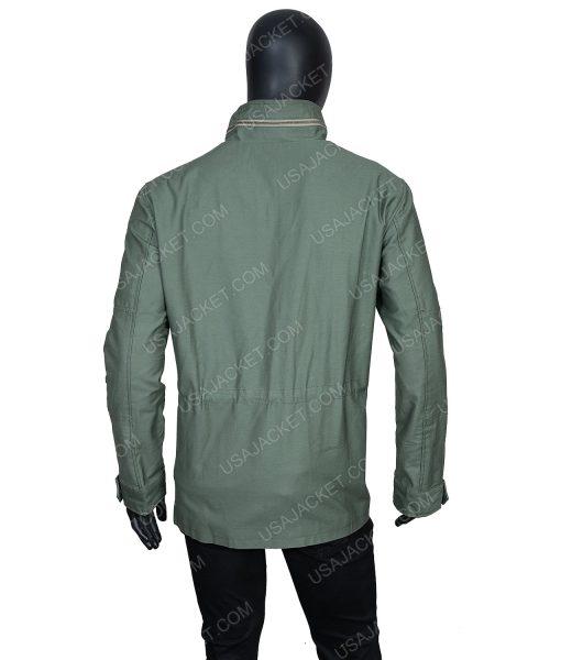 Clearance Sale Men's Cotton Green Jacket (XL) Size