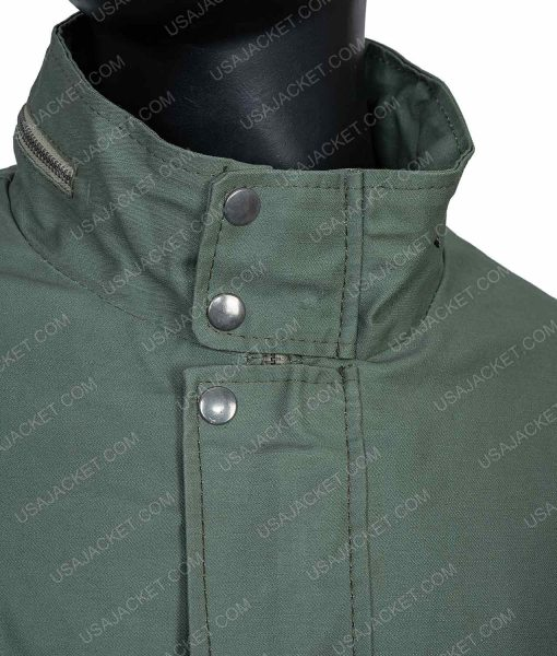 Clearance Sale Cotton Green Jacket (XL) Size