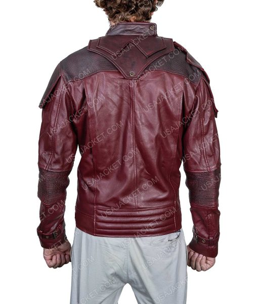 Clearance Sale Star-lord PU Leather Jacket Medium Size