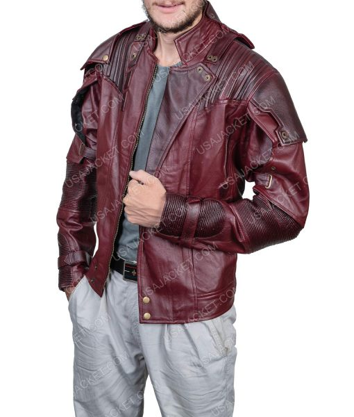 Clearance Sale Star-lord maroon jacket