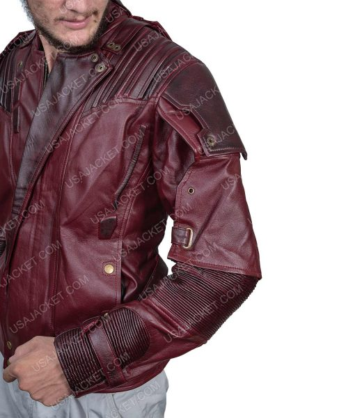 Clearance Sale Star-lord Maroon Jacket Medium Size