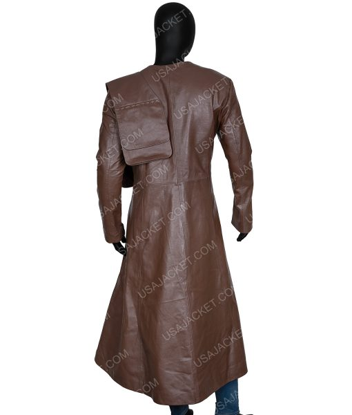 Cursed 2020 Gustaf Skarsgård Merlin Long Coat