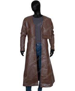 Cursed 2020 Merlin Leather Coat