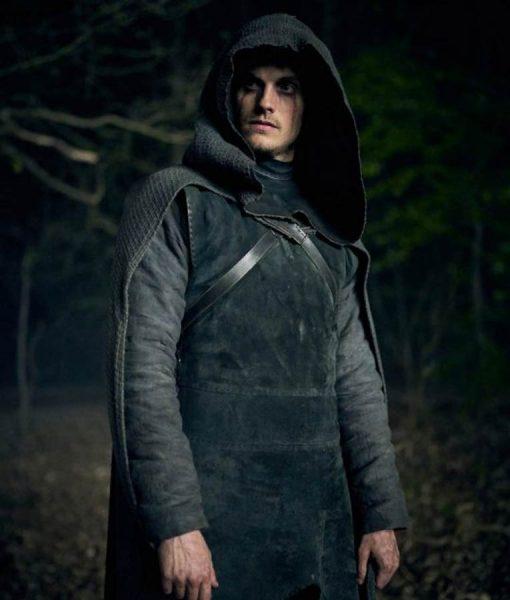 Cursed Daniel Sharman Coat
