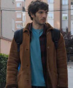 El Vecino The Neighbor Quim Gutiérrez Suede Coat