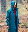 Emily Mortimer Relic Hooded Coat