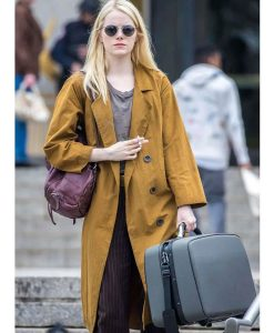 Maniac Emma Stone Cotton Coat