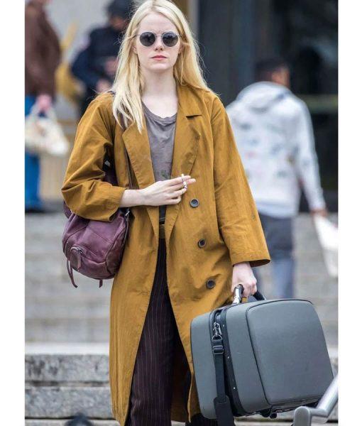 Emma Stone Maniac Coat