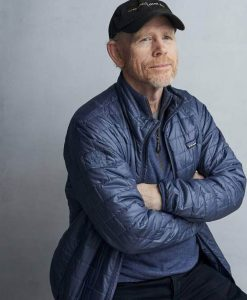 Film Rebuilding Paradise Director Ron Howard Quilted Jacket