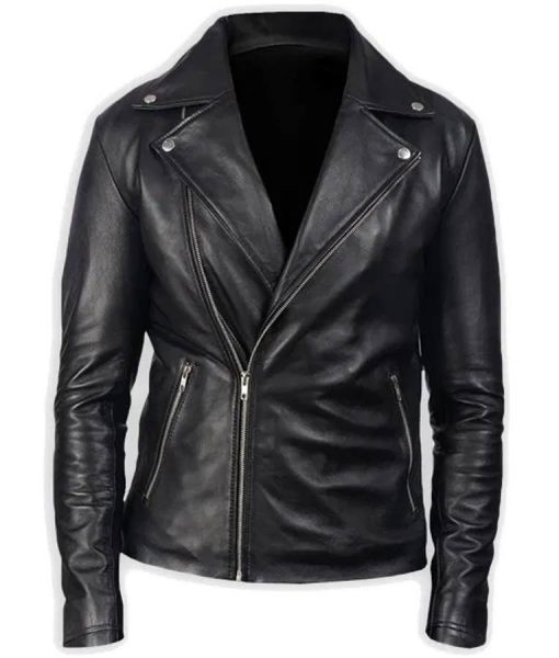 G-Eazy These Things Happen It's Dark Out Black Leather Jacket