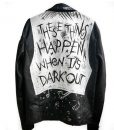 G-Eazy Rapper These Things Happen It's Dark Out Jacket